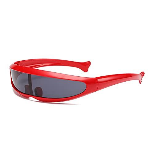 LWZ Moda todo en uno personalidad ligero al aire libre ciclismo gafas de sol, 2