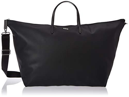 Lacoste L1212 Concept, Sac Bandouliere Femme, Noir (Black),36.5 x 22 x 42.5 cm
