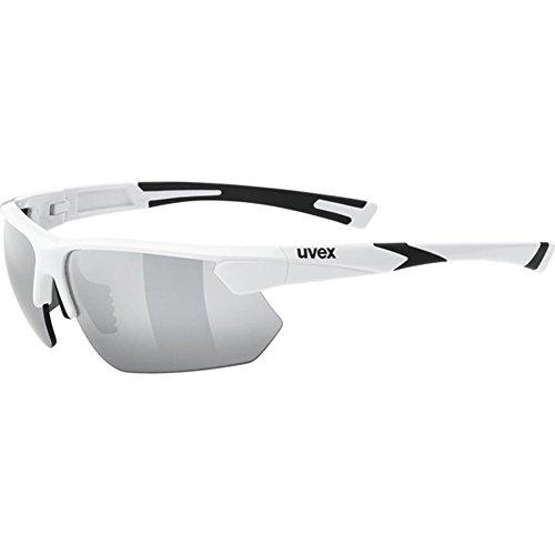 uvex Unisex– Erwachsene, sportstyle 221 Sportbrille, white, one size