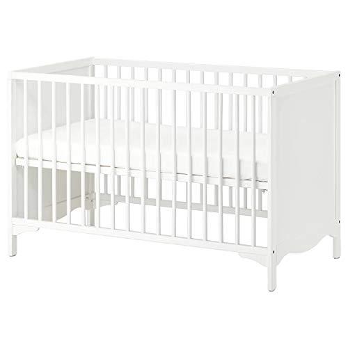 IKEA SOLGUL Kinderbett, 60 x 120 cm, Weiß