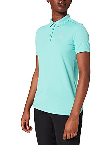 Odlo Damen Polo shirt s/s F-DRY, jaded, M