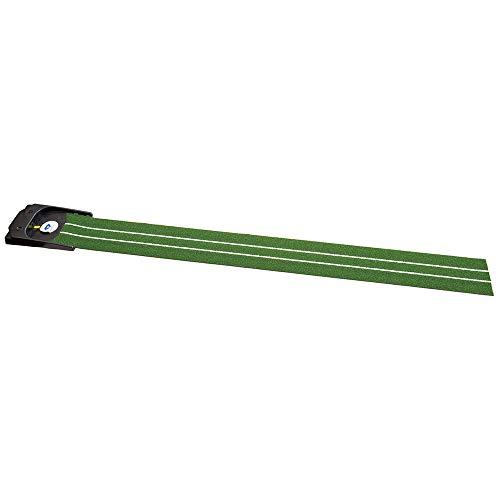 ダイヤゴルフ 電動式パターマット ダイヤオートパットHD TR-478 自動返球機能 高密度人工芝(長さ約2.5mx幅約25cm) グリーン