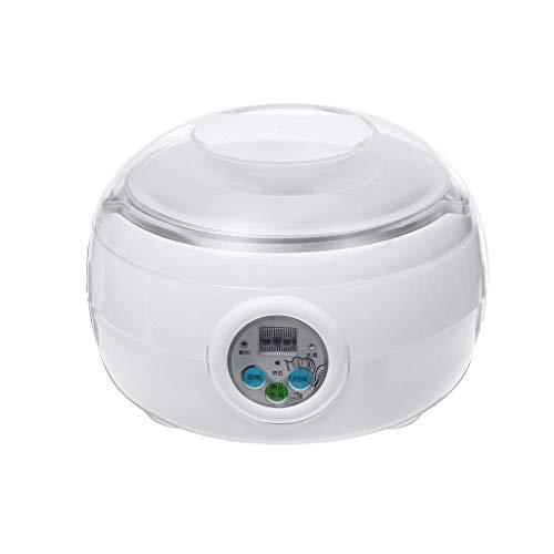 ZCJUX 1.5L 15W Blanco Fabricante automático automático de Yogurt de Yogur de arroz Cocina de natto Contenedor Yogurt Maker Cocina Aparato