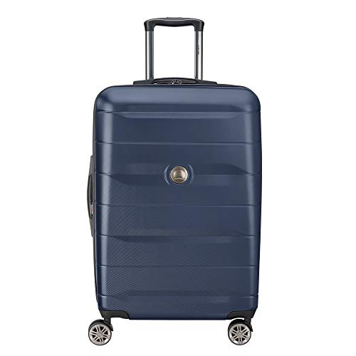 DELSEY Paris Comete 2.0 Hardside Expandable Luggage with Spinner Wheels, Anthracite, Carry-on 21 Inch