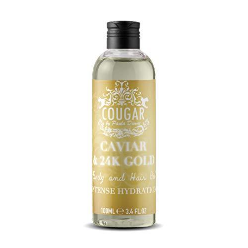 Cougar Beauty Caviar & Gold Body Oil 100ml