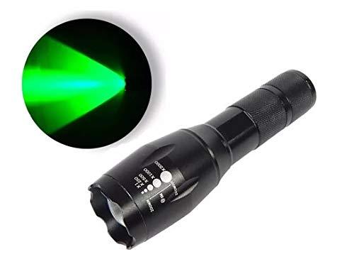 Lanterna Tática Milita X900 Resistente Agua Led T6 990000 W luz verde