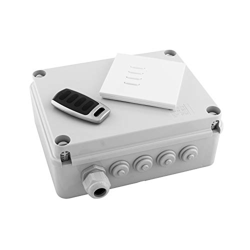 Wise Box Kit Version 3 - Wise Box Receiver, Intense Switch & Remote 4 Channel, 10 Amps / Circuit