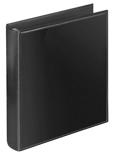 Veloflex 4153280 Prospekt-Ringbuch A5 Ringbuch Prospektalbum, passend für Prospekthüllen und Register, schwarz