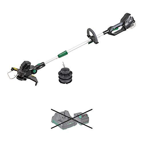 STIER Akku-Rasentrimmer SRT-75 36 V Solo, Kantenschneider Rasen, 30 cm Schnittbreite, Nylonmesser für scharfen Schnitt, teleskopierbar (ohne Akku & Ladegerät)