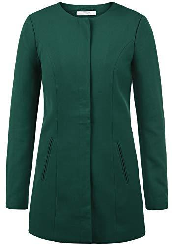 ONLY Maggie Damen Mantel Blazermantel Lange Übergangsjacke, Größe:M, Farbe:Ponderrose Pine