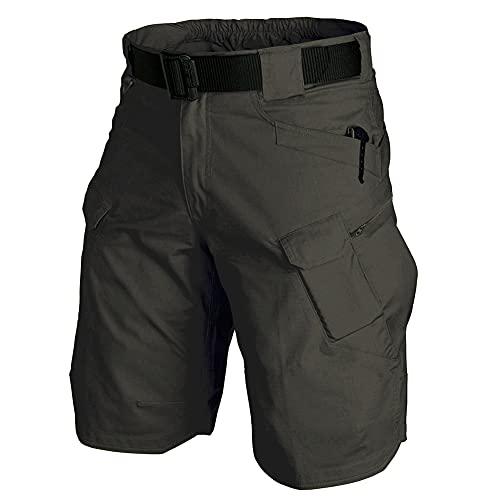 Kolongvangie Men's Shorts Outdoor Quick Dry Hiking Cargo Shorts Summer Work BDU Ripstop Waterproof Combat Short