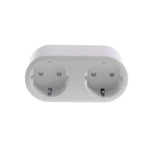 KONYKS 1 Enchufe Doble WiFi (16 A, Contador de Consumo Compatible con Alexa y Google Home, fácil de automatizar), 3680 W, 220 V