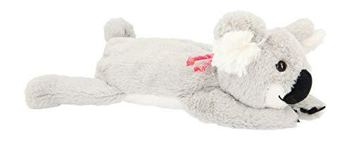 Depesche 11260 Schlamper aus Plüsch, TOPModel Koala, ca. 32 x 15 x 9 cm groß, Schlampertasche in Form eines süßen, flauschigen Koala Bären