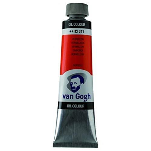Van Gogh 2053113 Ölfarbe, Zinnoberrot, Einheitsgröße