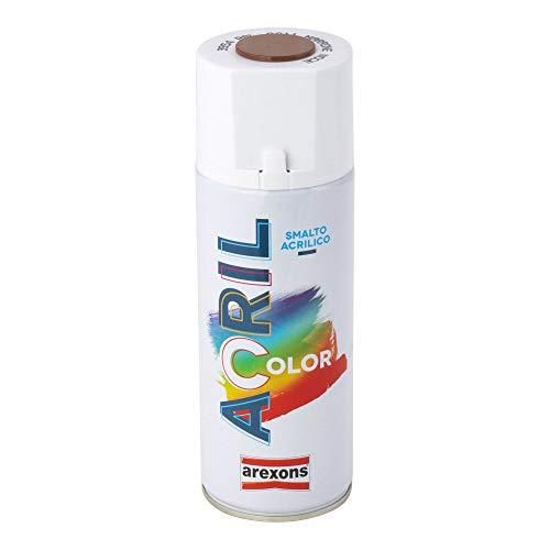 Smalto acrilico spray Arexons 8011 marrone noce