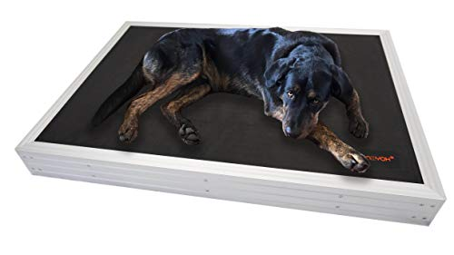 Niiyoh Chewproof Mega Mat - Heavy Duty Aluminum Dog Bed with 1680D Ripstop!