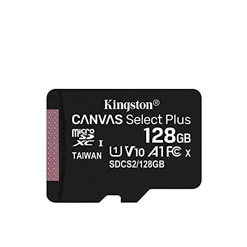 キングストン microSD 128GB 最大100MB/s UHS-I V10 A1 Nintendo Switch動作確認済 Canvas Select Plus SDCS2/128GB; セール価格: ¥674 - ¥3,799