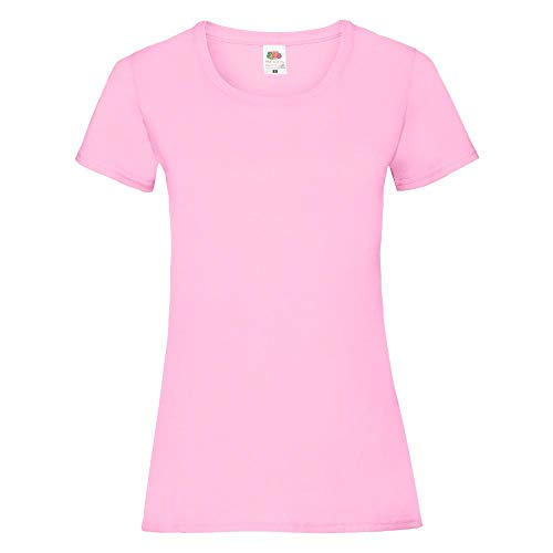 Fruit of the Loom - Lady-Fit Valueweight T - Modell 2013 XL,Light Pink