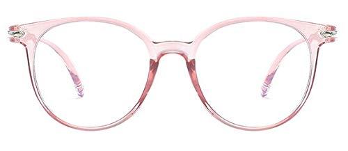 SNXIHES Sonnenbrillen Mode Frauen Brillengestell Männer Brillengestell Vintage Runde Klare Linse Brillen Optische Brillengestell 5