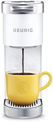 Keurig K-Mini Plus - Cafetera de una sola porción para cápsulas K-Cup, para tazas de 6 a 12 onzas, con almacenamiento para cápsulas K-Cup y se puede ocupar para termos de viaje