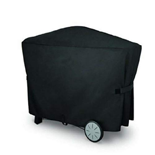 BBQ Cover Polyester Black 112,4 * 64,1 * 95.6cm Gas Barbecue Grill Cover geschikt for het uitvoeren Opvouwbare Machine W