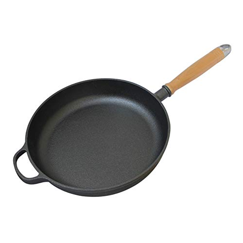 LRasdf Antistick Frying Pan 11-Inch Omelette Pot Is Zeer Geschikt voor Frying Sauce Baking Compatibel met Induction Gas Elektrische Fornuis Zwart