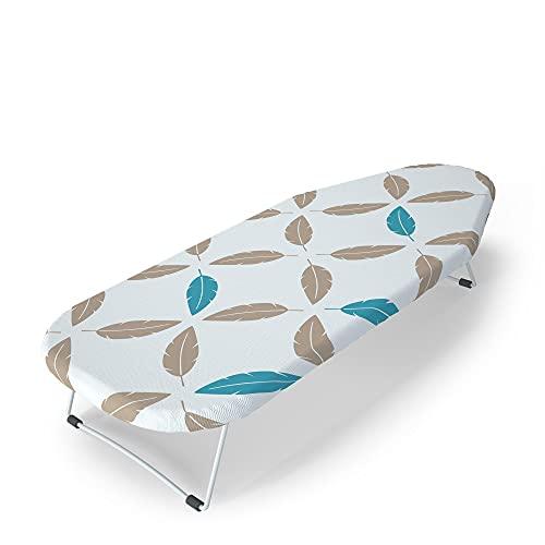 LaundrySpecialist® TISCHBÜGELBRETT zum einfachen Bügeln Ihrer Wäsche auf einem Tisch oder einer Arbeitsplatte. Stabiles Tischbügelbrett, ideal für kleine Haushalte oder unterwegs. Maße 70x33 cm