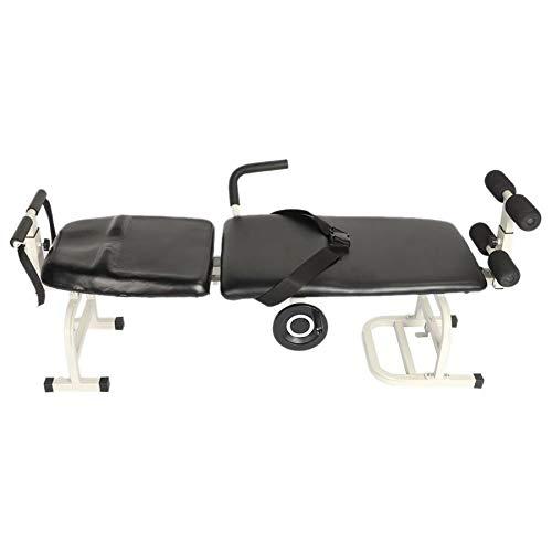 TQ Zervikaltraktion Rahmen, Die Wirbelsäule Bahre Lendenwirbeltraktionsbett Bandscheibenvorfall Zugvorrichtung