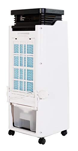 HAVERLAND CASAP   Raffrescatore Evaporativo Portatile   Riscaldamento e Raffreddamento   60W/1500W   Basso Consumo   25m²   5.5L   3 Livelli di velocità   Silenzioso   Oscillazione   Antizanzare