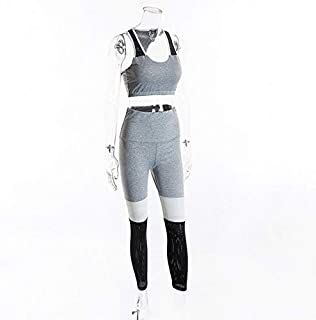 BEESCLOVER Women Fitness Yoga Set Gym Sports Running Jumpsuits Jogging Dance Tracksuit Breathable Quick Dry Spandex Sportswear Clothes Suit