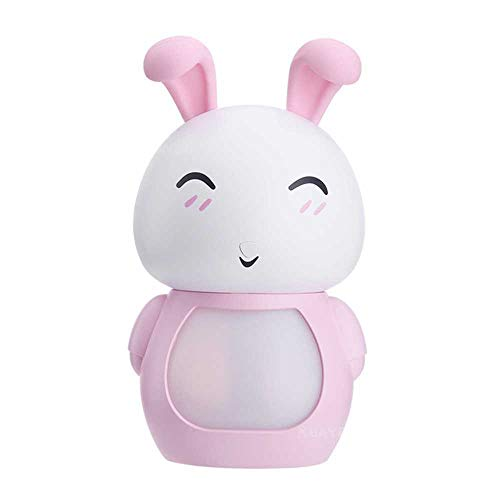 YSNMM 200 ml USB aroma etherische olie diffuser ultrasone mist konijntje luchtbevochtiger luchtreiniger LED nachtlampje kantoor cadeau