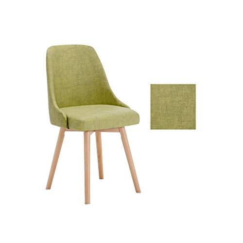 Krzesła do jadalni Kuchnia Krzesła do jadalni, technologia Skórzana blat bukowy Krzesło Balkon Bankiet Wesele Wypoczynek Użytkowanie domowe Oparcie Sypialnia Kuchnia (kolor: zielony)
