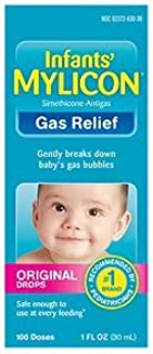 Best Mylicon Gas Relief Drops for Infants and Babies, Original Formula, 1 Fluid Ounce Review