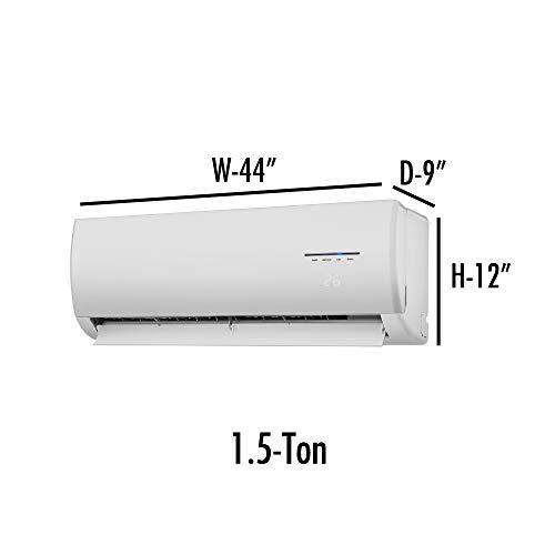 Glassiano Printed Ac Cover for Panasonic 1.5 Ton Inverter CS/CU-YS18RKY Split Air Conditioner - White Split in Unit