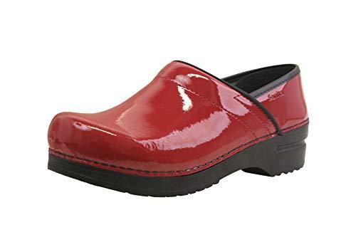 Sanita Pro. Patent Women's Clog in Red sz 6.5-7