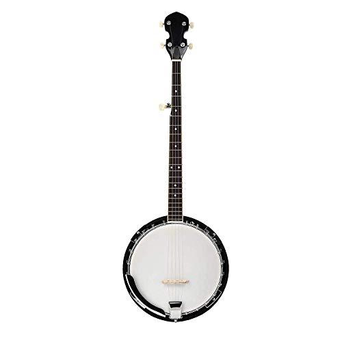Banjo 5 cuerdas Uke Ukelele Banjolele con bolsa para principiantes, tamaño de...