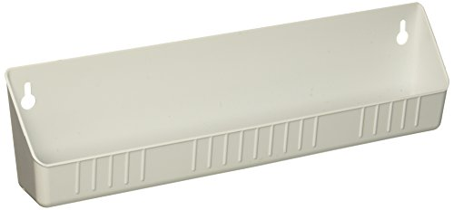 """Rev-A-Shelf 6581 Sink Front 14"""" Tip-Out Tray, Standard, White, 2 pack"""