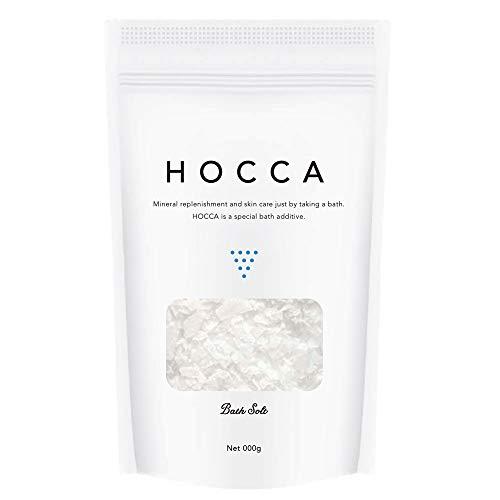 ホッカ HOCCA バスソルト 入浴剤 浴用化粧品 国産 保湿 発汗 マグネシウム 1か月分 計量スプーン付き 【瀬戸内海から生まれたバスソルト】