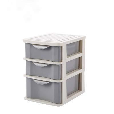 ZHAS Boîte de Rangement pour cosmétiques Boîte à Bijoux avec tiroir à Trois Niveaux