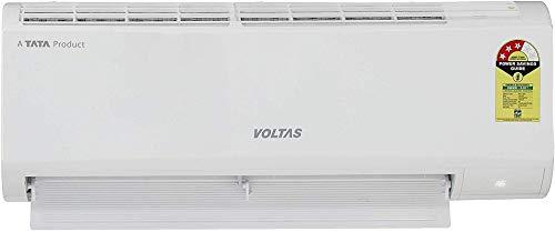Voltas 1 Ton 3 Star Inverter Split AC (Copper, 123VCZTT, White)