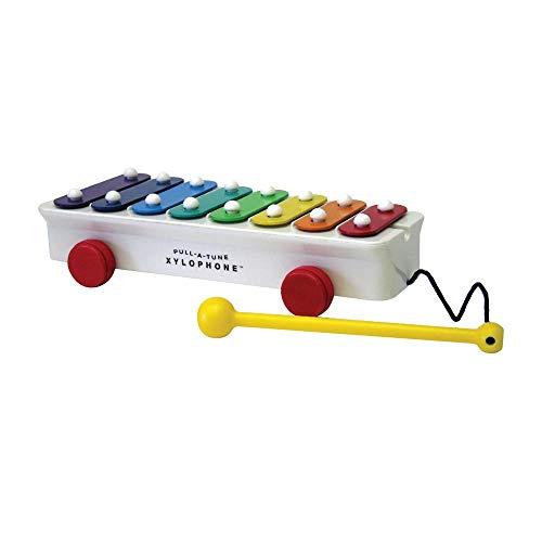 Fisher - Price - Classics Pull a Tune Xylophone Jouet, BFI1702, Multicolore - version anglaise