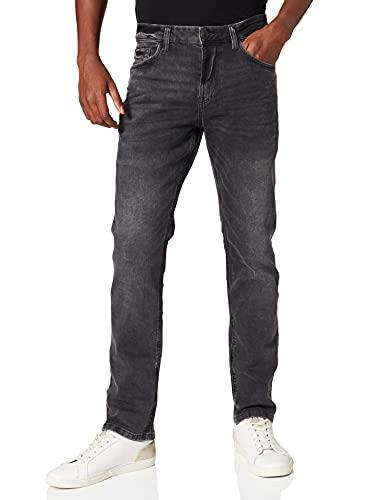 TOM TAILOR Herren Josh Regular Slim Jeans, 10210 - Grey Denim, 34W / 32L