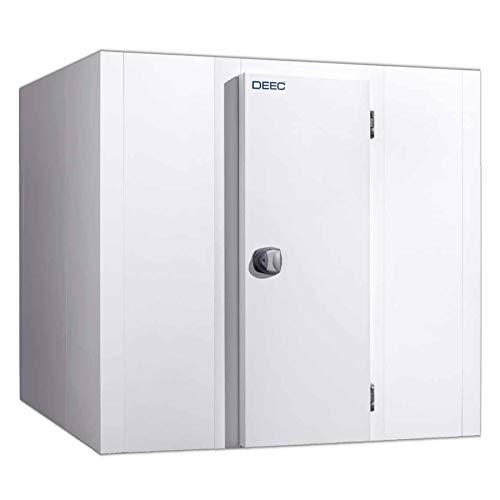 Kühlzelle 100 mm Wandstärke, 204x144x215 cm