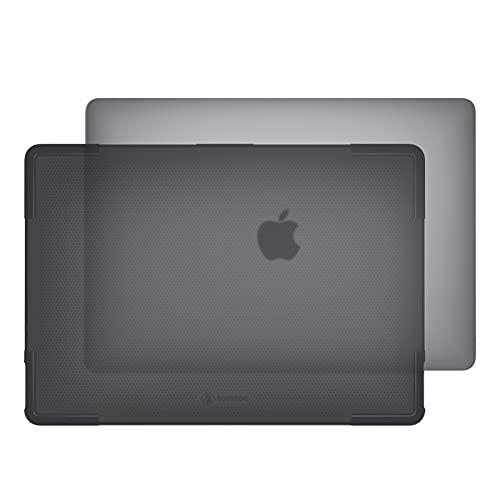 tomtoc Funda Dura para 13-Pulgadas MacBook Air Chip M1 2020-2021, Funda Protectora Ligera y Rígida, Carcasa Transparente Que Se Adapta Perfectamente a MacBook Air A2337 A2179 A1932 2018-2021