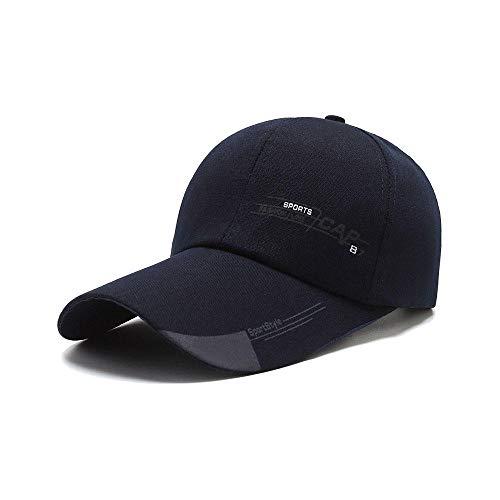 KLKL Sombrero para Hombre Primavera al Aire Libre Parasol Gorra para el Sol Sombrero para el Sol Sombrero de Pesca de Mediana Edad Gorra de béisbol Informal de Verano