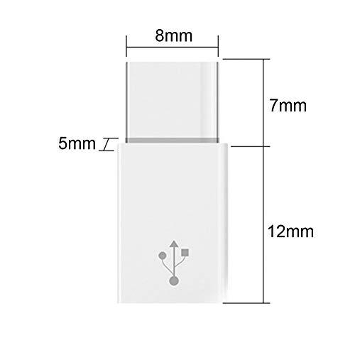 Dazone 10 X USB 3.1 Typ C Stecker auf Micro USB Buchse Konverter USB C Adapter