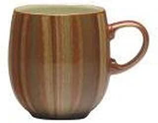 Denby Fire Stripes Large Curve Mugs, Set of 4