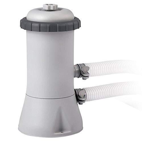 Intex 28604 530 GPH 220 - 240 V Cartridge Filter Pump - Grey