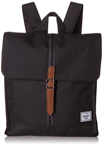 Herschel City Mid-Volume Black/Black/Tan
