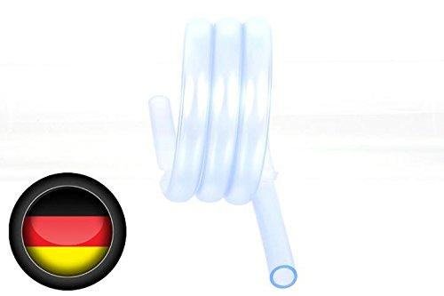 Alphacool 18530 Schlauch AlphaTube HF 13/10 (3/8' ID) - UV Blau transparent 1m (3,3ft) Retailbox Wasserkühlung Schläuche
